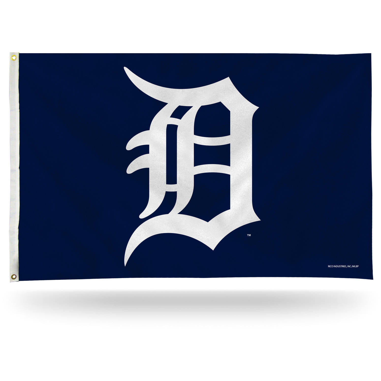 Rico Industries MLB 3' x 5' Banner Flag, Detroit Tigers