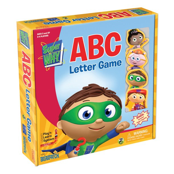 Briarpatch® Super WHY! ABC Letter Game