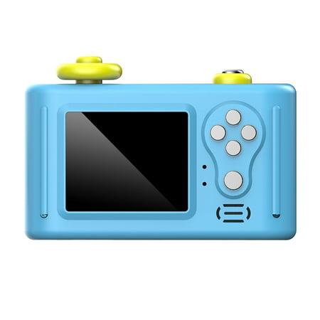 Childrens HD Digital SLR Camera 1.5inch 6X Zoom 2 Million Pixels Micro Mini Camera With USB2.0 TF Port Puzzle Toy For Kids (Best Mini Slr Camera)