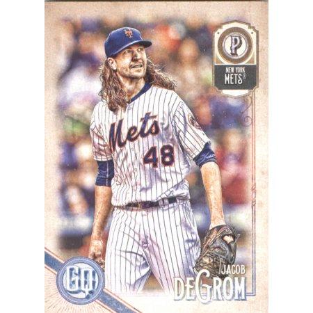 2018 Topps Gypsy Queen #176 Jacob deGrom New York Mets Baseball Card - *GOTBASEBALLCARDS - Jacobs Trading
