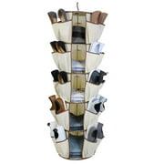 Dazz Smart Carousel Shoe Organizer 5-Tiers / 40 Pockets