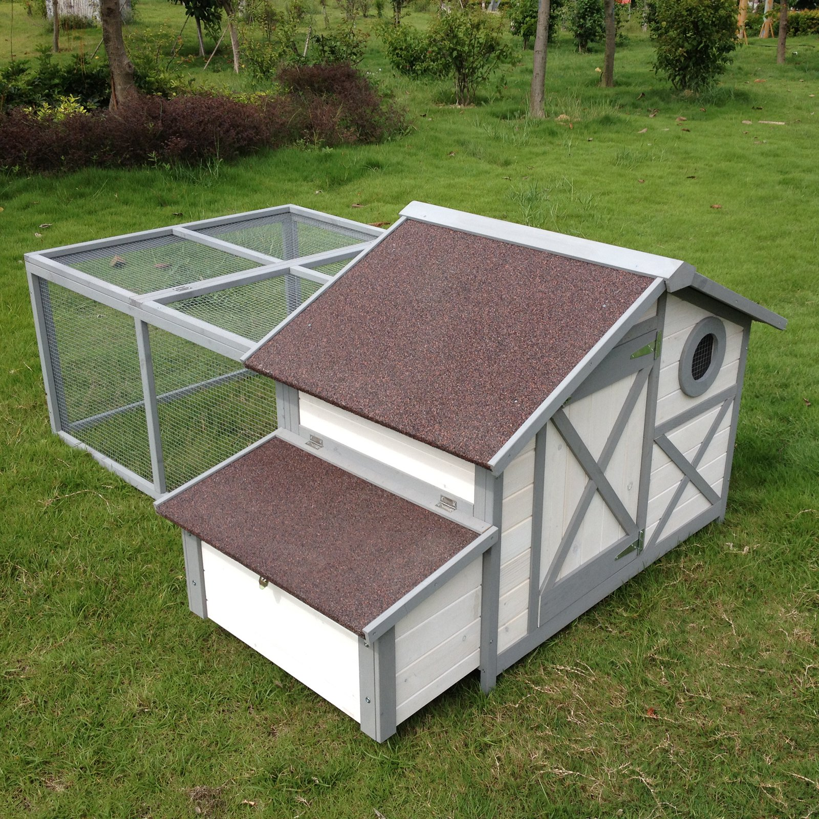 Boomer & George Cape Bay Dual-Use Chicken Coop Rabbit Hutch by