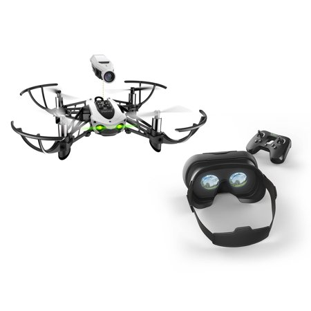 Parrot Mambo Drone FPV Kit (White) Certified (Certified - Parrot Nose