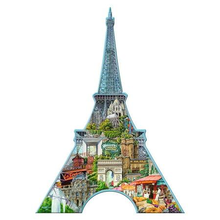 Silhouette Shaped Puzzle: Eiffel Tower, Paris, 960 Pieces](Eiffel Tower Puzzle)
