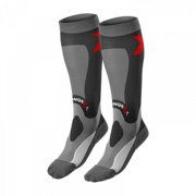 Stronger RX Small Recovery Socks, Black & Gray