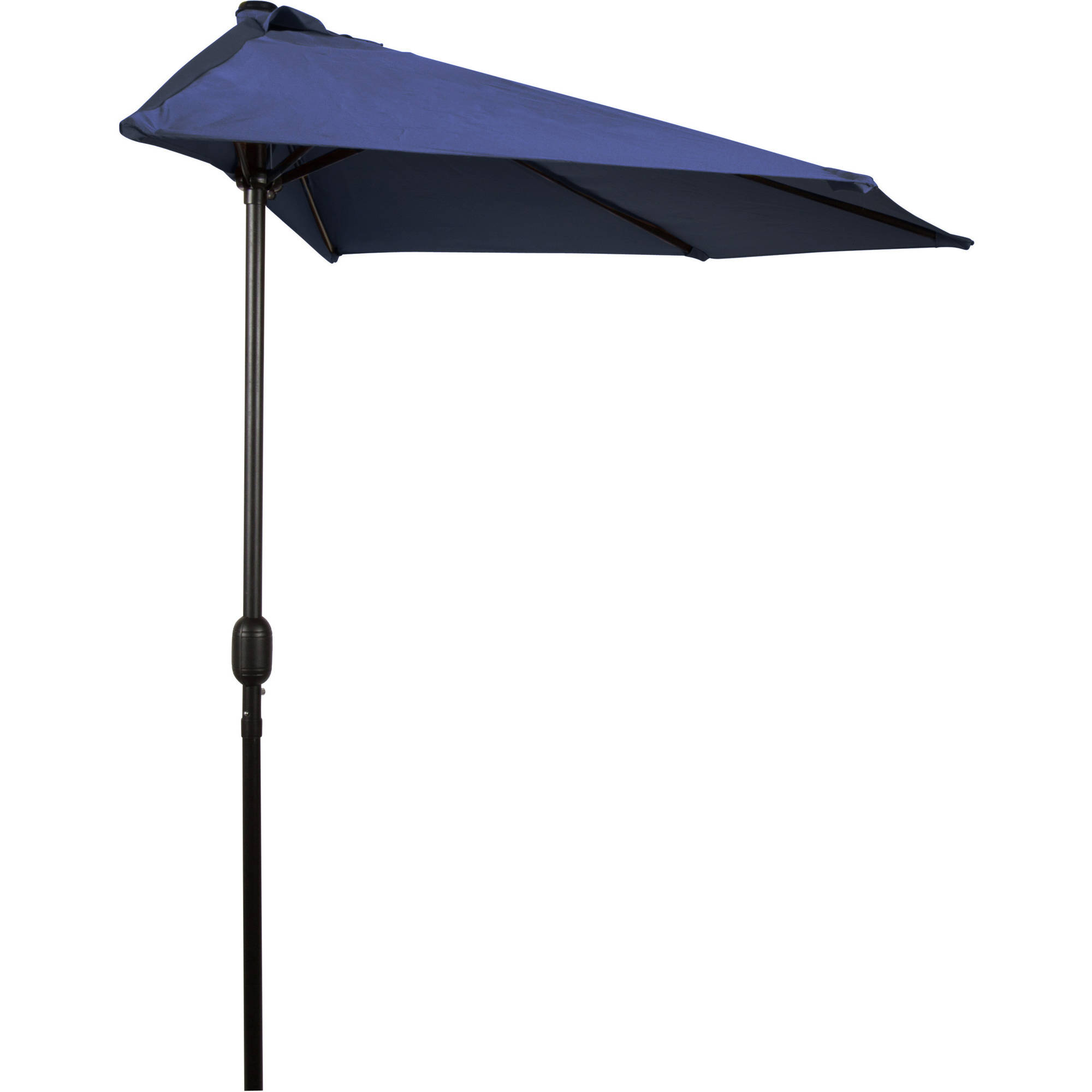 Trademark Innovations 9u0027 Patio Half Umbrella