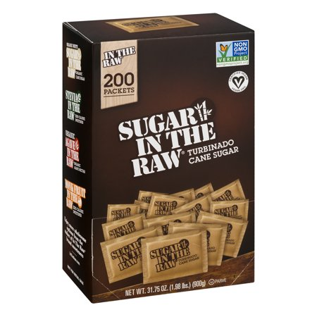 (200 Count) Sugar In The Raw Turbinado Sugar Packets
