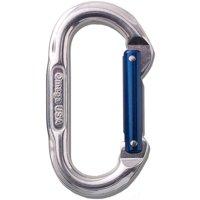 Omega Pacific Standard Oval Carabiner - Blue Gate