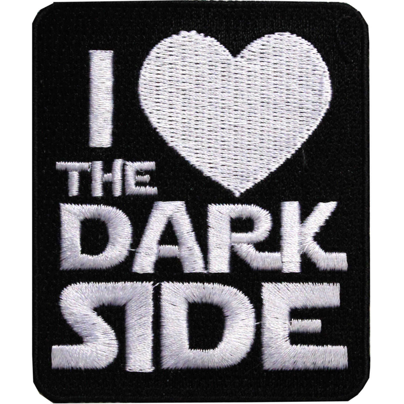 Star Wars Official 'I Love The Dark Side' Iron On Patch
