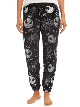 Disney Women's and Women's Plus Nightmare Before Christmas Fleece Sleep Pant