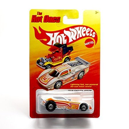 '77 PLYMOUTH ARROW (WHITE) * * 2011 Release of the 80's Classic Series - 1:64 Scale Throw Back HOT WHEELS Die-Cast Vehicle, '77 PLYMOUTH ARROW (WHITE) * The Hot.., By The Hot Ones ()
