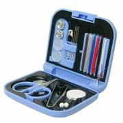 Egmy Travel Sewing Kit Thread Needles Mini Case Plastic Scissors Outdoor Hot Set