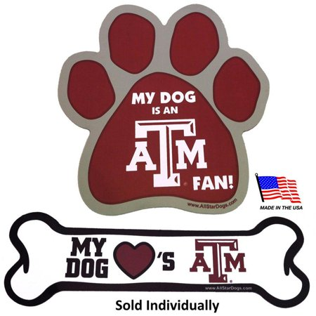 Texas A&M Aggies Car Magnets - (Texas A&m Aggies Decal)