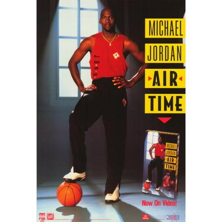 Michael Jordan: Air Time (1993) 11x17 Movie Poster ()