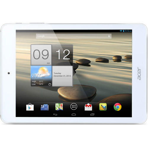 "Acer ICONIA A1-830-25601G01nsw 16 GB Tablet - 7.9"" - In-plane Switching (IPS) Technology - Wireless LAN - Intel Atom Z2560 Dual-core (2 Core) 1.60 GHz - 1 GB LPDDR2 RAM - Android - Slate -"