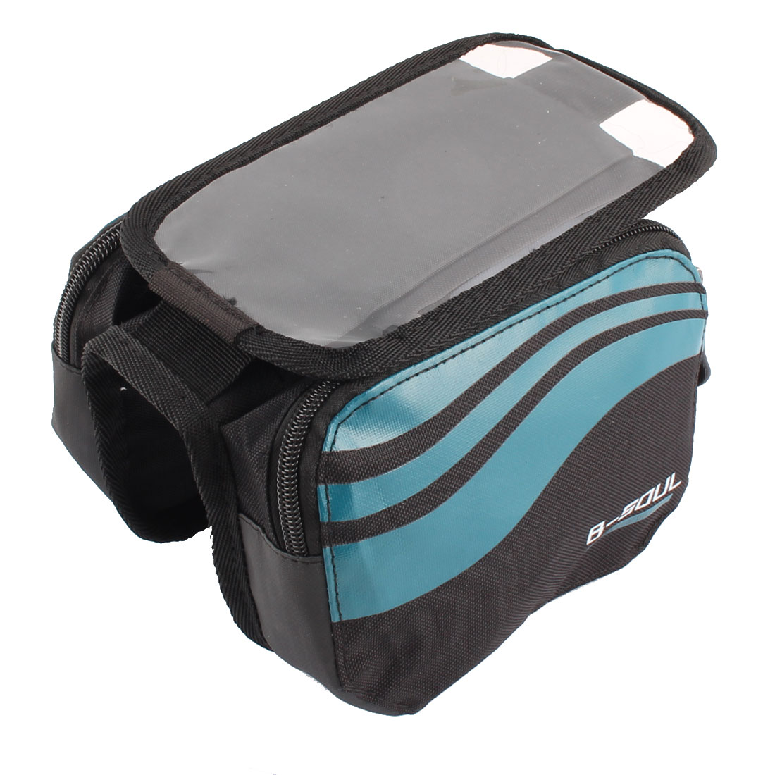 Outdoor Travel Mountain Bike Bicycle Front Tube Bag Storage B-SOUL Authorized