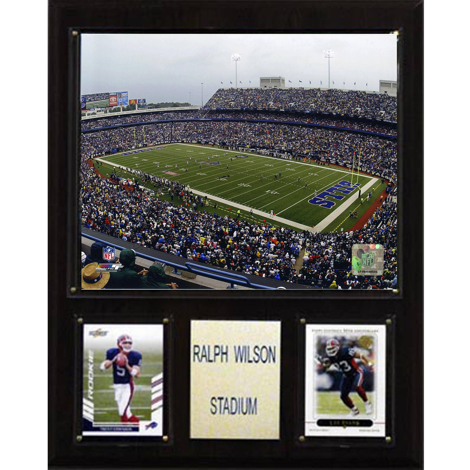 C&I Collectables NFL 12x15 Ralph Wilson Stadium Stadium Plaque