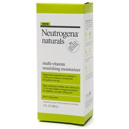 Neutrogena Naturals Multi-Vitamin Nourishing Moisturizer 3 oz (Pack of 2)