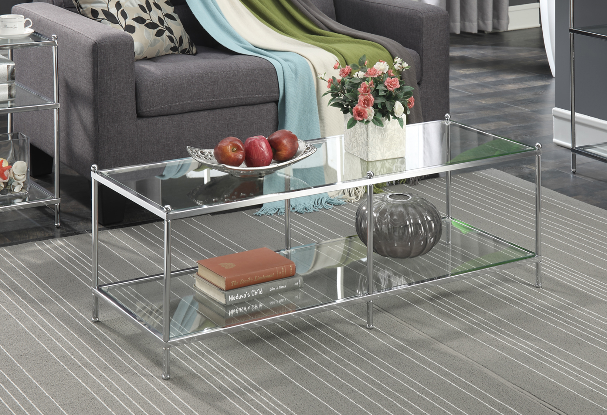 Genial Convenience Concepts No Tools Royal Crest Coffee Table