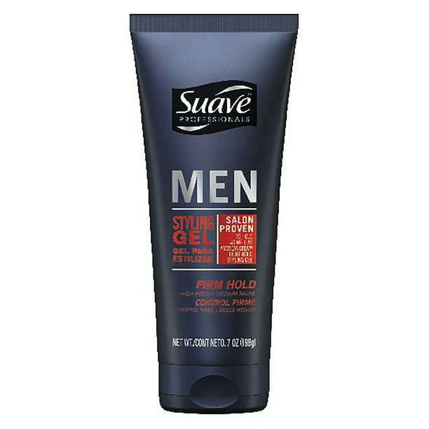 Suave Men Firm Control Styling Gel, 7 oz