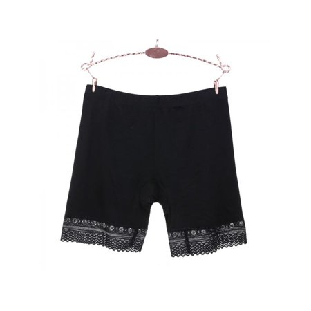 MarinaVida Women Safety Stretch Lace Under Shorts Seamless Leggings Pants Skirt Dress ()