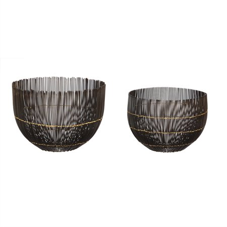 Evergreen Basket (Wire Basket, Set of 2)