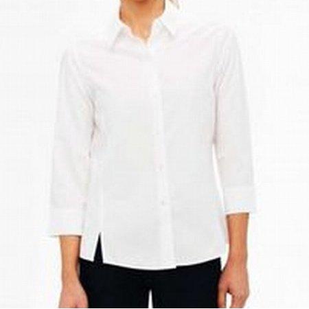 83c20380 Foxcroft - Foxcroft NEW White Women's Size 0P Petite Fitted Button Down  Blouse - Walmart.com