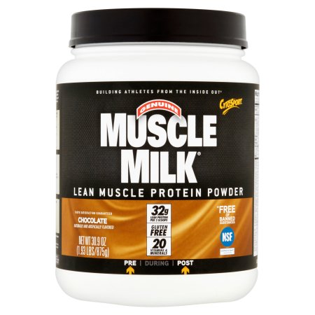 Muscle Milk Protein Powder Chocolate - 1.93 lbs (Pack of 8)