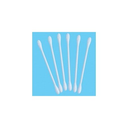 Cotton Swabs * 100% Cotton Tips * Soft & Natural * 500 Swabs Per