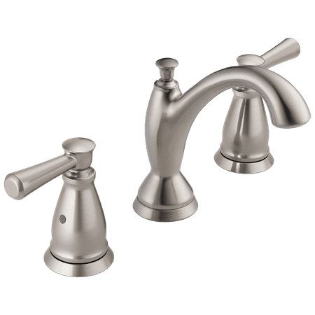 Delta Faucet 3593-MPU-DST Linden Widespread 1.2 GPM Bathroom Faucet with Diamond Seal Technology and Drain Assembly -