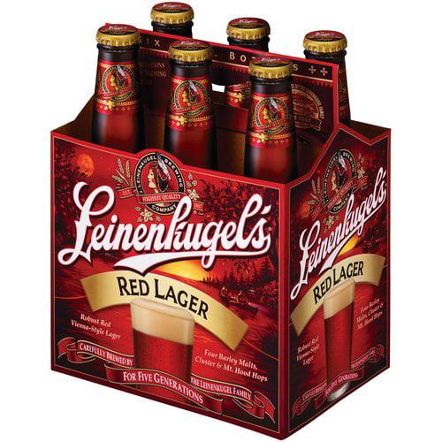 Leinenkugel's Red Lager 6 Pk 12oz  Glass Bottles