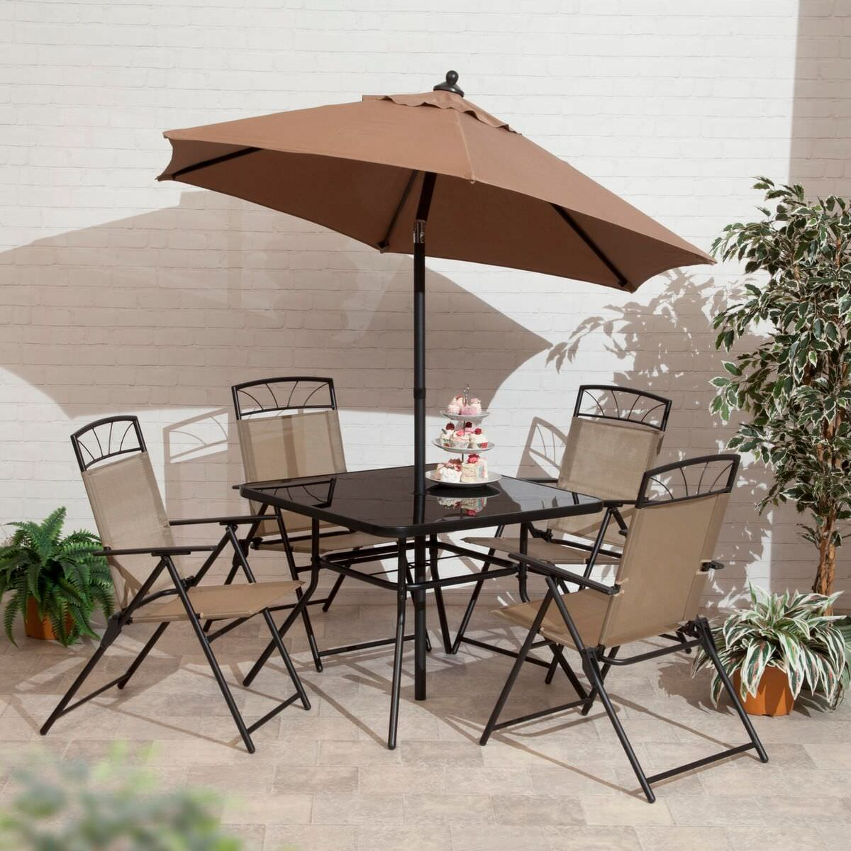 6pc Memphis Copper Dining Collection