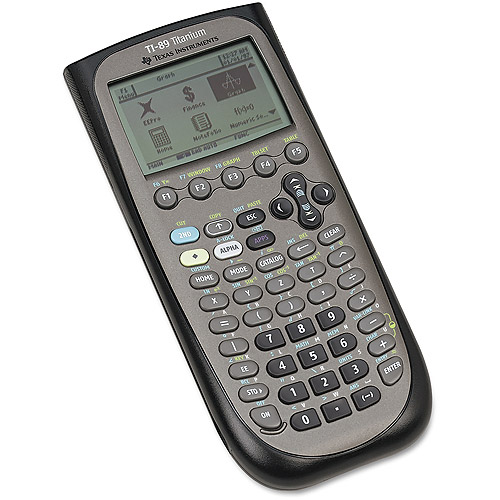 Texas Instruments TI-89 Graphing Calculator, Titanium