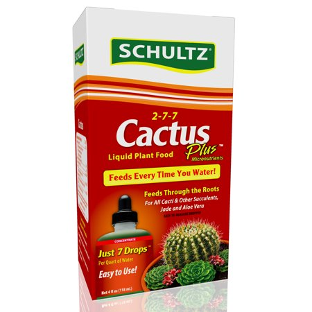 Schultz 4oz Cactus Plus Liquid Plant Food 2-7-7