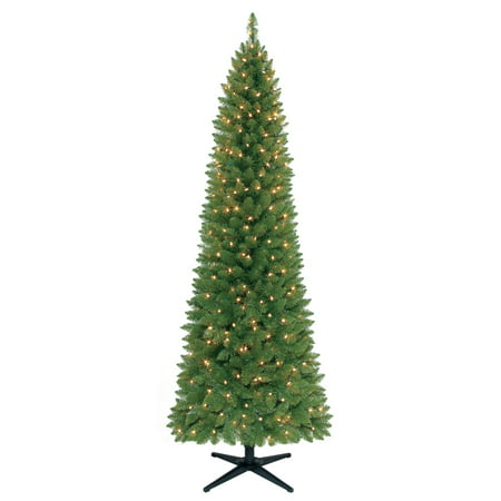 holiday time pre lit 7 brinkley pine artificial christmas tree clear lights