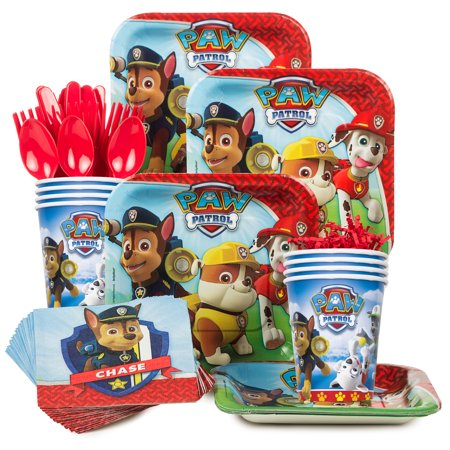 Paw Patrol Party Supplies Standard Kit for 8 - Paw Patrol Party