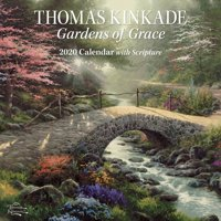 Thomas Kinkade Gardens of Grace with Scripture 2020 Wall Calendar (Other)