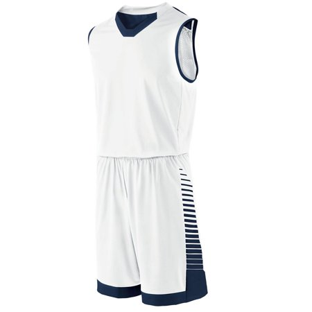 Holloway Youth Arc Jersey Whi/Navy M - image 1 of 1