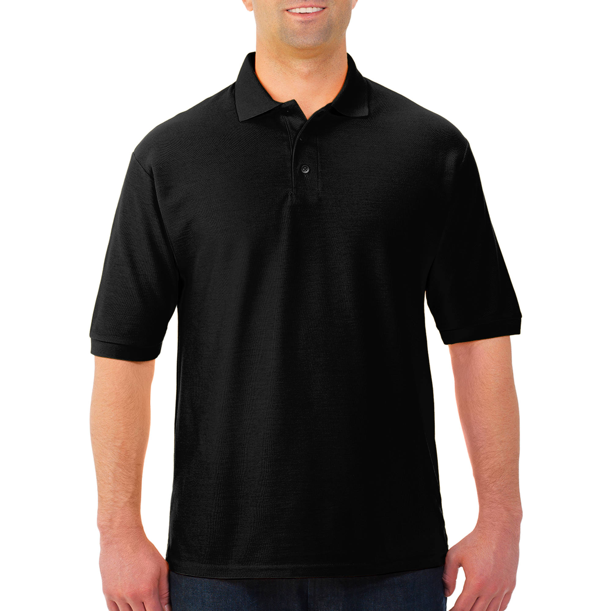 JERZEES Easy Care Men's Short Sleeve Polo