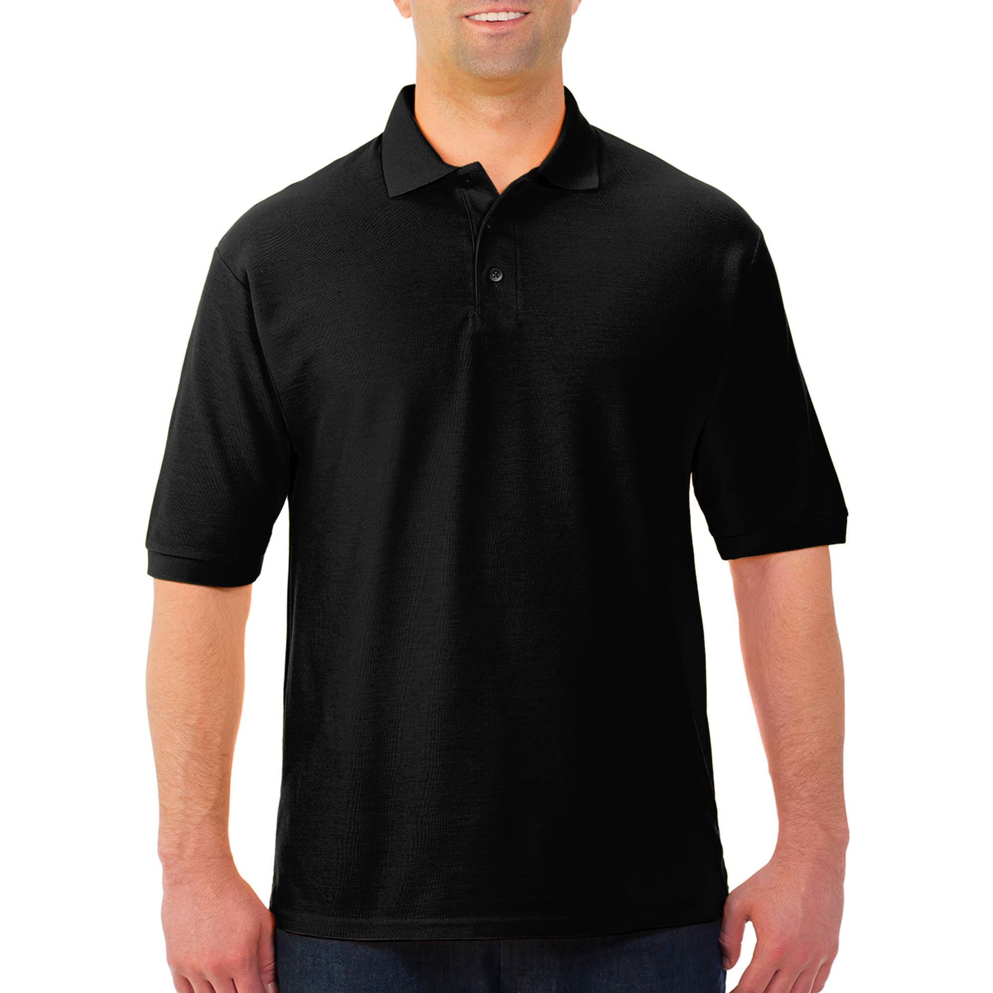 JERZEES Easy Care Men's Short Sleeve Polo