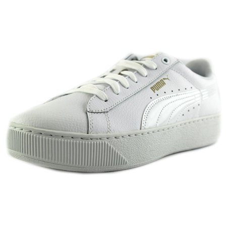 f5ef56c7271 PUMA - Puma Vikky Platform Leather Fashion Sneakers - Walmart.com