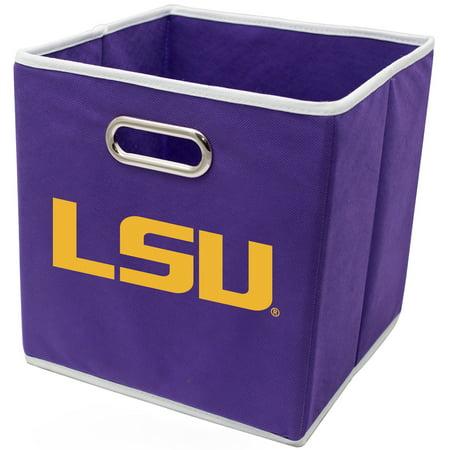 LSU Tigers Franklin Sports 11'' x 10.5 x 10.5'' Storage Bin - No Size - Lsu Store