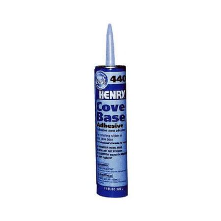 Henry Ww 12105 440 Cove Base Adhesive, 11-oz.