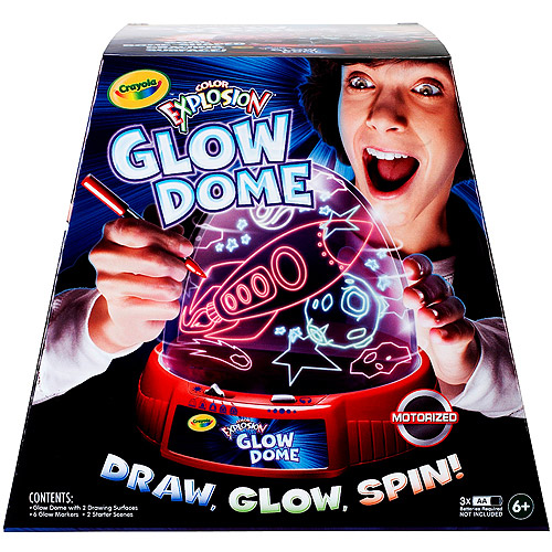 Crayola Color Explosion Glow Dome