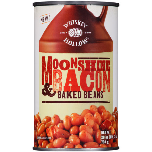Whiskey Hollow Moonshine & Bacon Baked Beans, 28 oz by Del Monte Foods