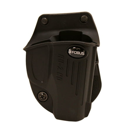 Fobus Evolution Holster Ruger LC380, LC9, LC9s, LC9s Pro, Paddle, Right Hand, Black