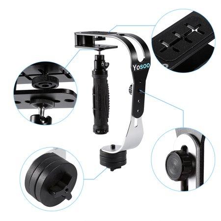 TOPINCN PRO Handheld Steadycam Video Stabilizer for Digital Camera Camcorder DV DSLR SLR,Handheld Video Stabilizer, Handheld Steadycam Video Stabilizer for Camcorder - image 5 of 8