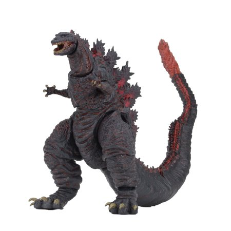 Godzilla - 12 inch Head to Tail Action Figure - 2016 Shin (12 Inch Figure Stand)