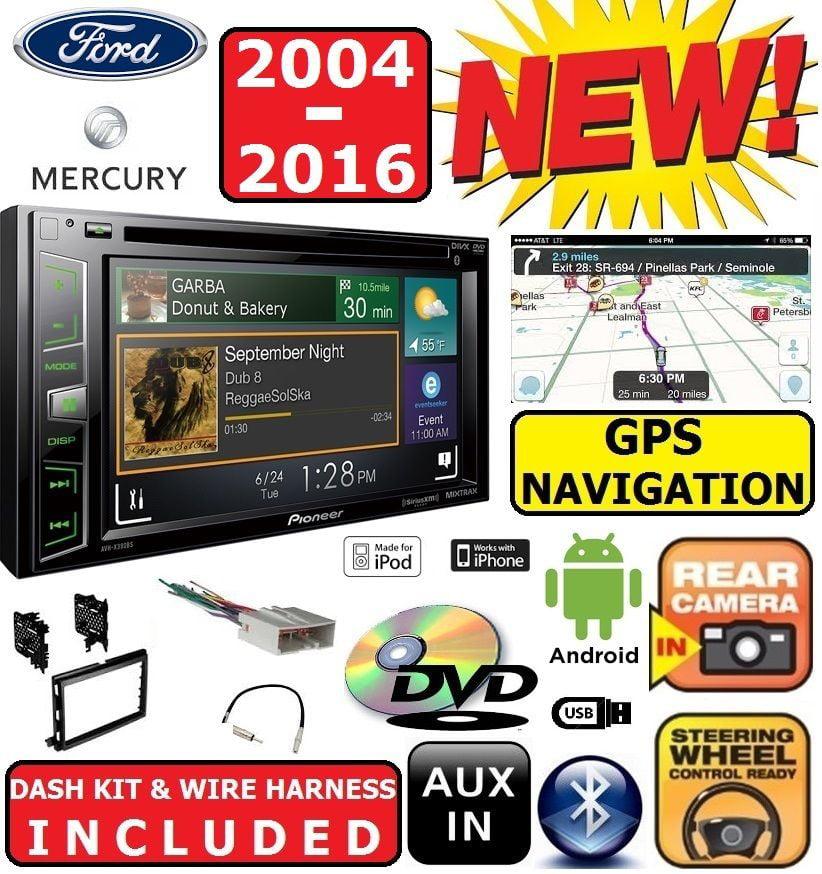 Ford F E Series Pioneer Navigation Cd Dvd Bluetooth Car Radio