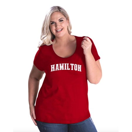 Canada Hamilton Women's Curvy Plus Size Scoopneck